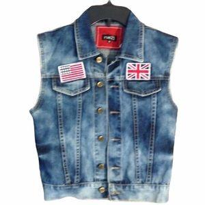 Very Cool Denim Vest Size Medium